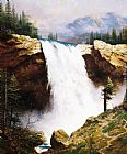 Thomas Kinkade The Power And The Majesty painting