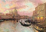 building paintings - venice by Thomas Kinkade