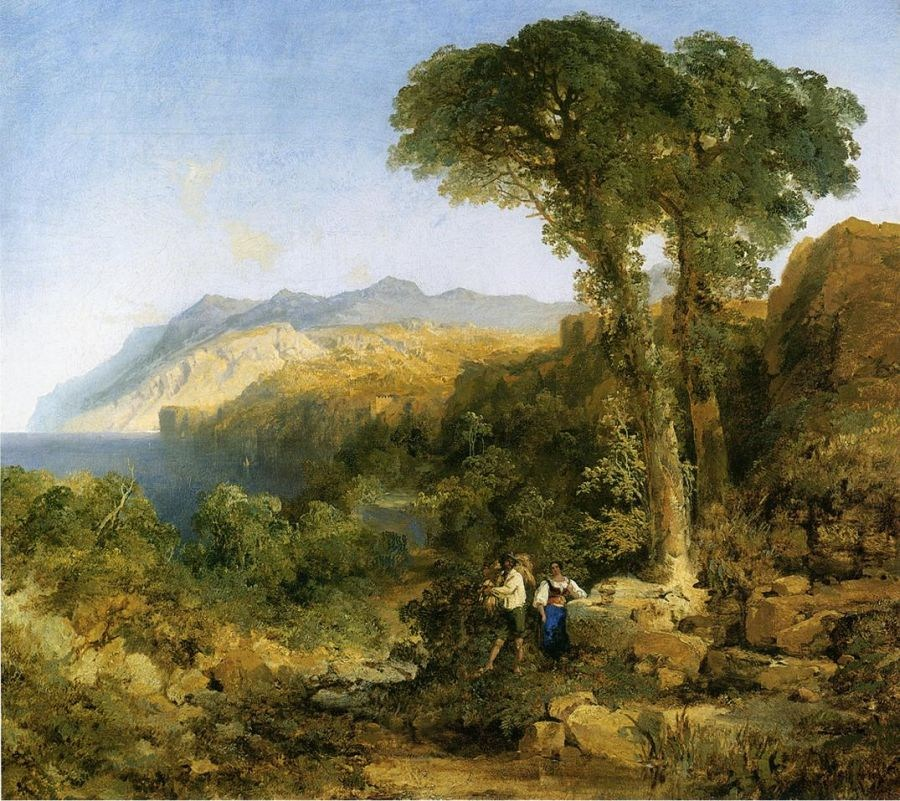 Thomas Moran Amalfi Coast