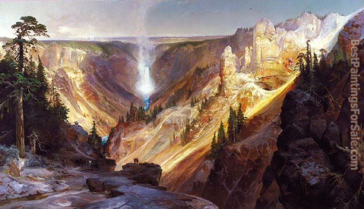 Thomas Moran Grand Canyon of the Yellowstone b