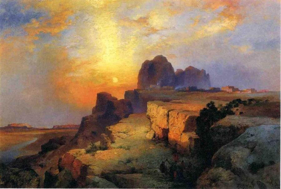 Thomas Moran Hopi Museum,Arizona