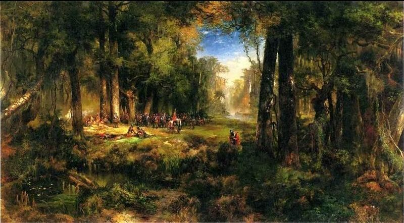 Thomas Moran Ponce De Leon in Florida