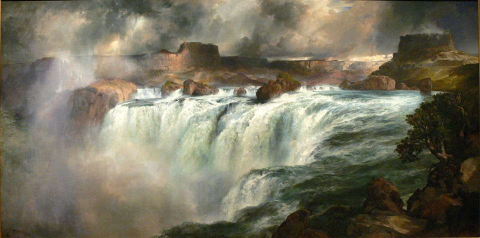 Thomas Moran Shoshone Falls on the Snake River