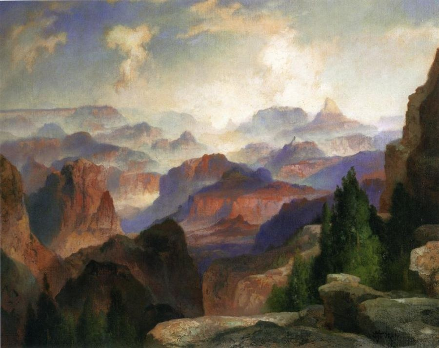 Thomas Moran The Grand Canyon