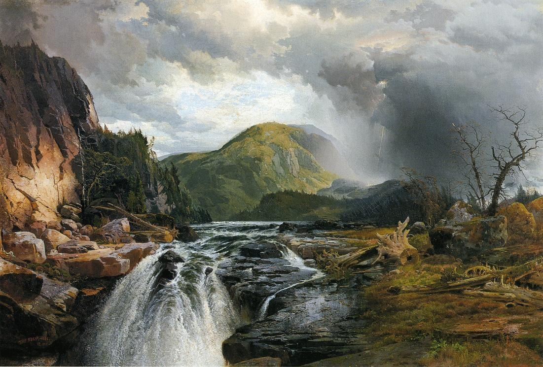 Thomas Moran The Wilds of Lake Superior