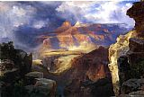 Thomas Moran A Miracle of Nature painting