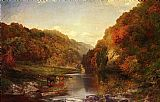 Thomas Moran Autumn on the Wissahickon painting