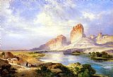 Thomas Moran Green River, Wyoming painting