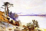 Thomas Moran Head of the Yellowstone River painting