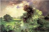 Thomas Moran June, East Hampton painting
