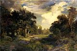 Thomas Moran Long Island Landscape painting