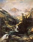 Thomas Moran Mountain of the Holy Cross painting