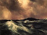 Thomas Moran The Angry Sea painting