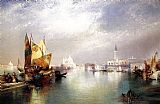 Thomas Moran The Splendor of Venice painting