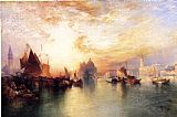 Thomas Moran Venice, from near San Giorgio painting