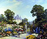 Tom Mostyn A Parisian Garden painting