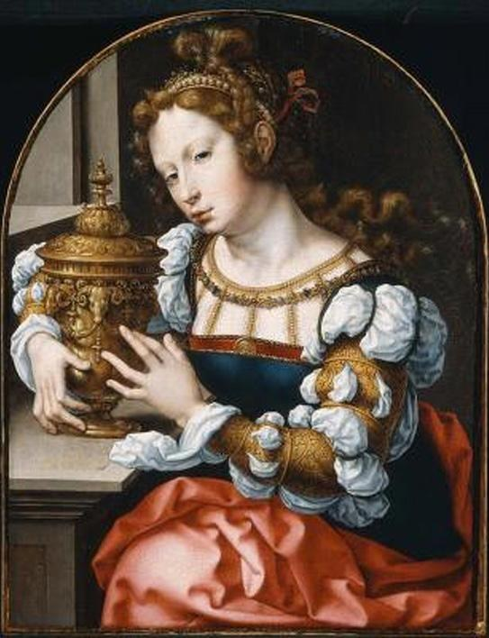 Unknown Artist Mary Magdalene By John Gossaert