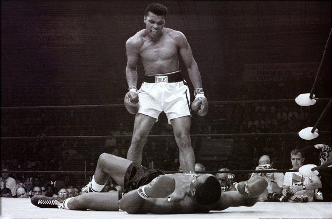 Unknown Artist Muhammad Ali vs. Sonny Liston