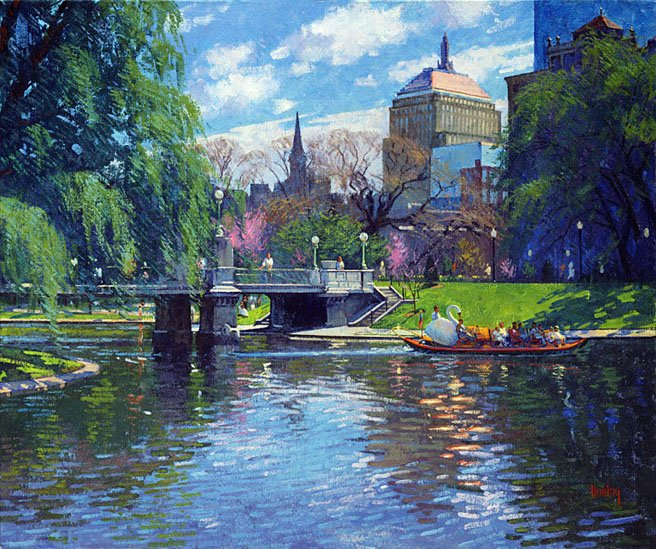 Unknown Artist Springtime,Boston Public Garden