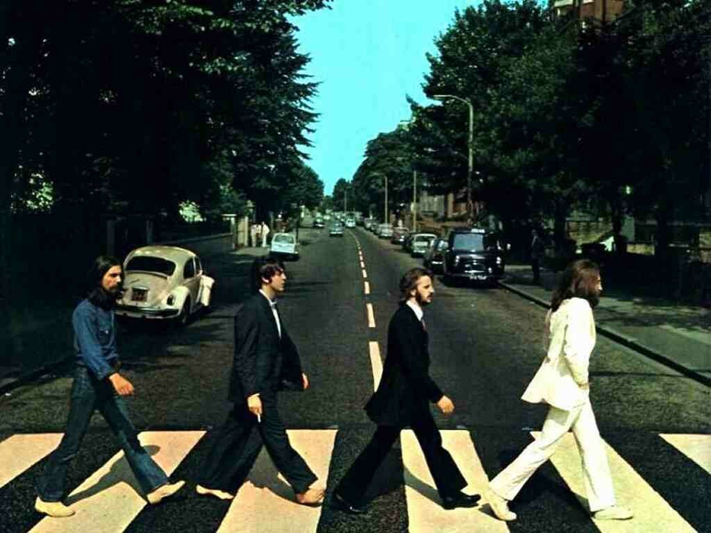 Unknown Artist The Beatles Abbey Road Painting Best