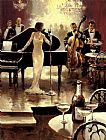 Unknown Artist Brent Heighton Jazz Night Out painting