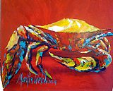 Unknown Artist Crab 3 painting
