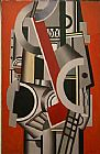 Unknown Artist Fernand Leger Element Mecanique painting