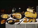 Floris van Schooten Still Life with a Ham