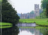 Unknown Artist Fountains Abbey 2 painting