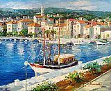 Mediterranean paintings - Medi011 by Unknown Artist
