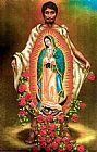 Unknown Artist Our Lady of Guadalupe painting
