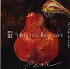 Unknown Artist Red Pear painting