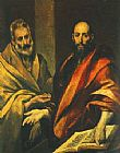 Unknown Artist The Apostles Peter and Paul painting