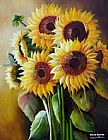 Unknown Artist The SunFlowers painting
