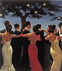 Unknown Artist Vettriano Waltzers painting