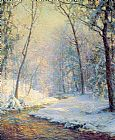 Unknown Artist palmer The Early Snow painting