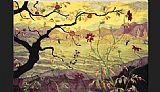 paul ranson Apple Tree with Red Fruit