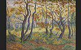 Unknown Artist paul ranson Edge of the Forest painting
