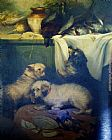 Unknown Artist untitled pets painting