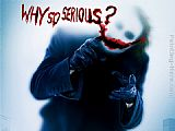 Unknown Artist why so serious the joker painting