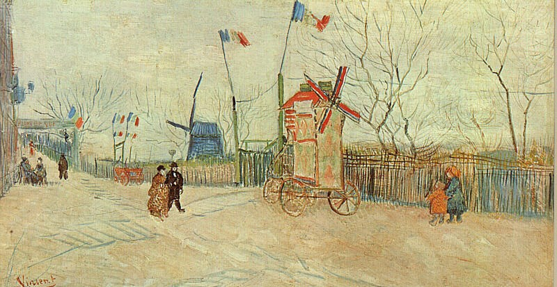 Vincent van Gogh Holiday at Montmartre