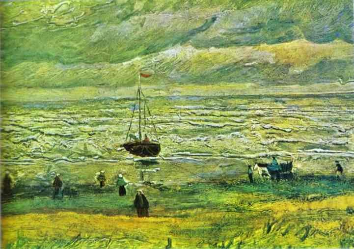 Vincent van Gogh Seashore at Scheveningen