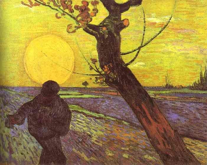 Vincent van Gogh Sower with Setting Sun After Millet