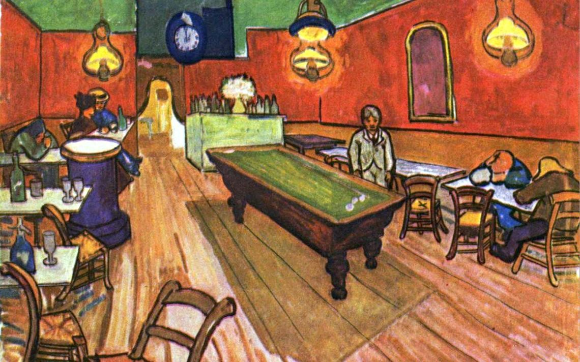 Vincent Van Gogh The Night Cafe In Place Lamartine Arles