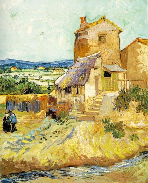 Vincent van Gogh The Old Mill
