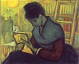 Vincent van Gogh A Novel Reader painting