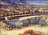 Vincent van Gogh Factory city painting