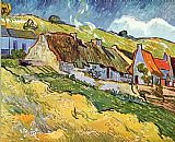 Vincent van Gogh Farmer Huts in Auvers painting