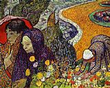 Vincent van Gogh Ladies of Arles painting
