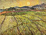 Vincent van Gogh Landscape with Ploughed Fields painting